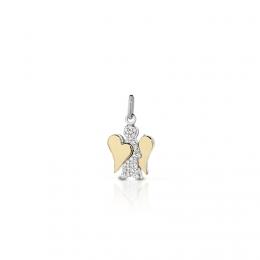 Přívěsek-anděl s diamantem PZ630 Roberto Giannotti