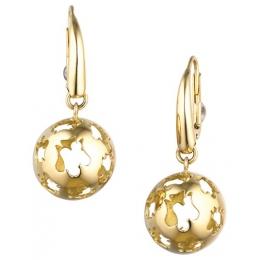 Náušnice - kuličky ze žlutého zlata, SF20