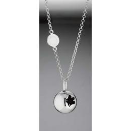 Stříbrný náhrdelník s přívěskem, SFA49KIT