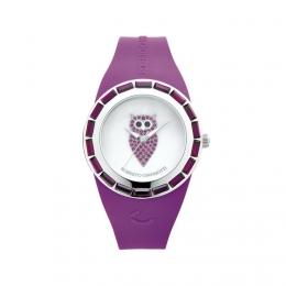 Barevné hodinky se sovou, střední (různé barvy)