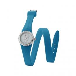 Barevné hodinky se sovou, malý ciferník, dvojiný řemínek