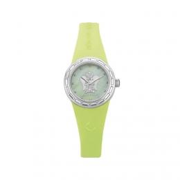 Barevné hodinky s andělem, malý ciferník